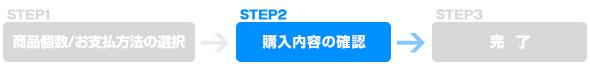 STEP2 購入内容の確認